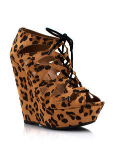 Cat It Out Lace Up Booties
