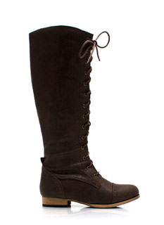 Stand Tall Lace Up Boots