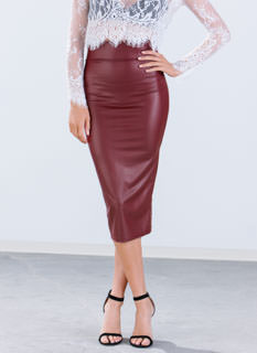 In High Gear Midi Skirt