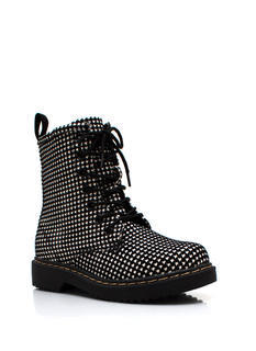 Houndstooth Sleuthing Boots