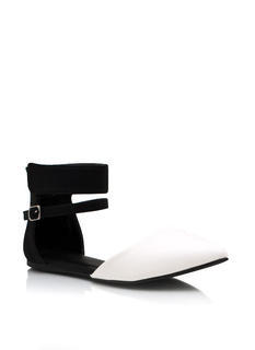 Ankle Strap Pointy Toe Flats