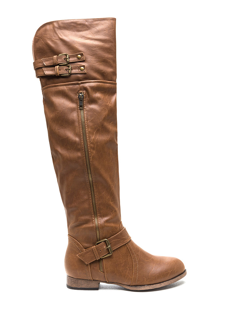 Walk Tall Buckled Boots