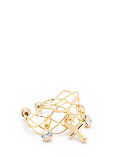 Cross Your Heart Ring