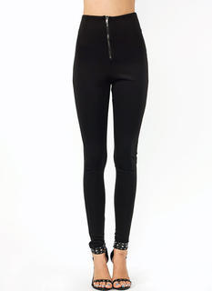 Just Zip It High Waisted Pants