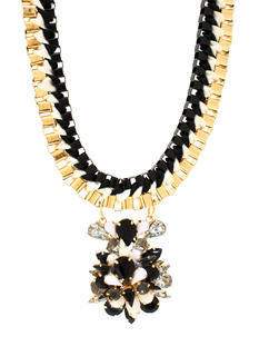 Cluster Of Jewels Boxy Necklace