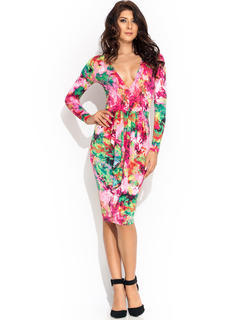 Come Into Bloom Ruffled Dress