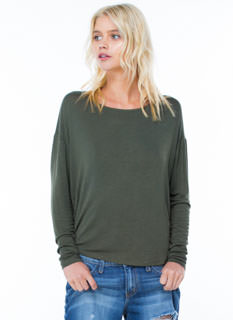 Sweater Weather Drop Shoulder Tunic