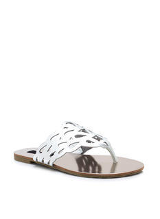 Get Loopy Cut Out Thong Sandals