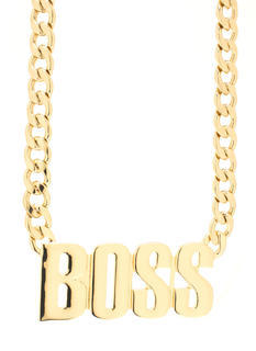 Bossed Up Necklace