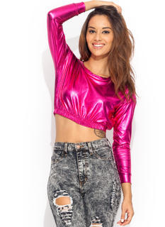 Shining Moment Cropped Top