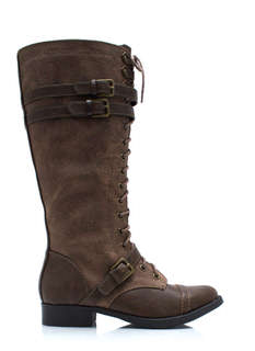 Higher Me Lace Up Boots