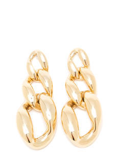 Chunky Dangling Chain Link Earrings
