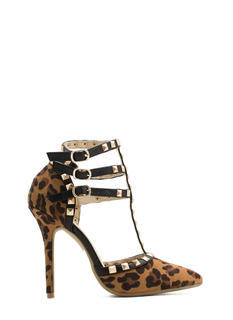 Pointy Spike It Up Heels