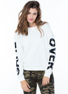 Game Over Statement Sweatshirt