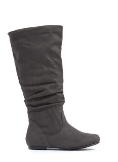 Basic Babe Faux Suede Boots