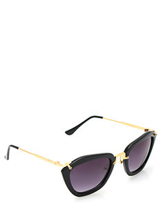 Miss Shapen Pentagon Sunglasses
