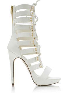 Lace-Up Gladiator Heels