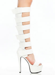Strap To It Gladiator Heels
