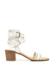 Crimp My Style Perforated Sandals
