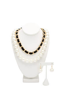 Pearly Gates Chain Necklace Set