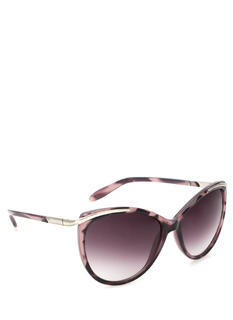 Metallic Glint Cat Eye Sunglasses