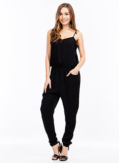 Cami Babe Cinched Jumpsuit