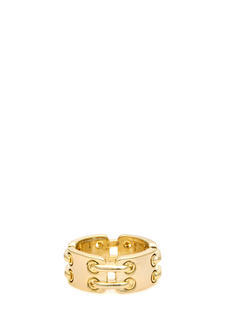 Faux Hinged Plate Ring