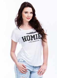Rolling With Homies Graphic Tee