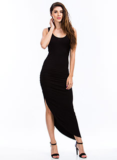 Ruche To The Max Dress