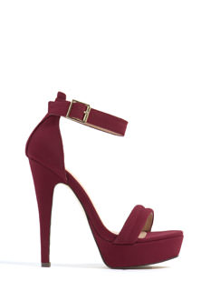 Barely There Platform Heels