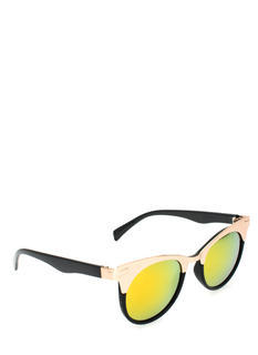 Metallic Accent Cat Eye Sunglasses