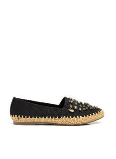 Daytime Sparkle Woven Espadrille Flats