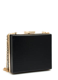 Wooden Square Clutch