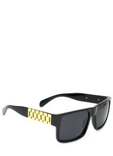 Brick Chain Embellished Sunglasses