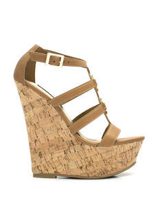 Double Medallion Cork Wedges