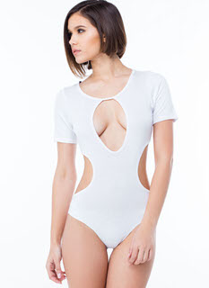 All Curves Cut-Out Bodysuit