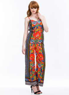 Shapes 'N Flowers Jumpsuit