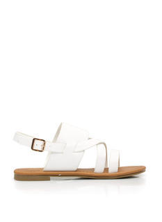 Strapping Out Slingback Sandals