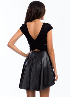 Up High Down Low Skater Dress