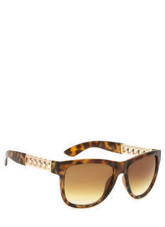 Metallic Chain Sunglasses