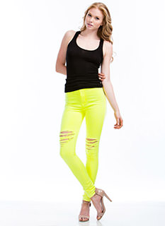 Neon Of Ur Business Jeans