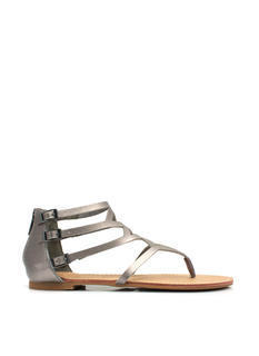 To Diamond For Strappy Caged Sandals