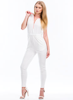 Zip Around Town Jumpsuit