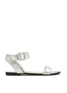 Singled Out Metallic Sandals