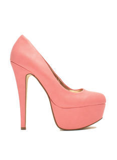 Love At First Faux Leather Stiletto Heels