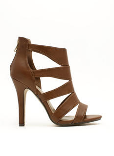 I See You Cut-Out Heels