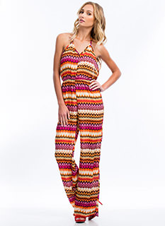 Tribal Sunset Jumpsuit