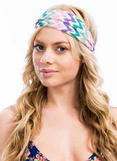 Wide Zigzag Headband