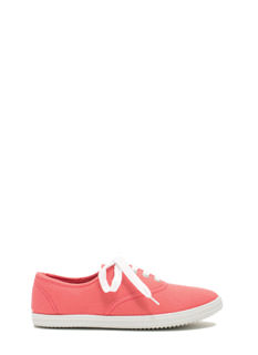 Solid Foundation Canvas Sneakers