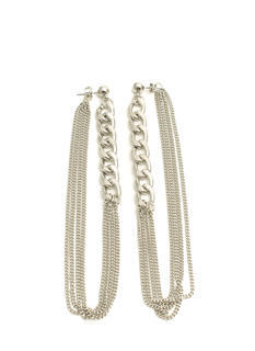 Double Up Chain Earrings